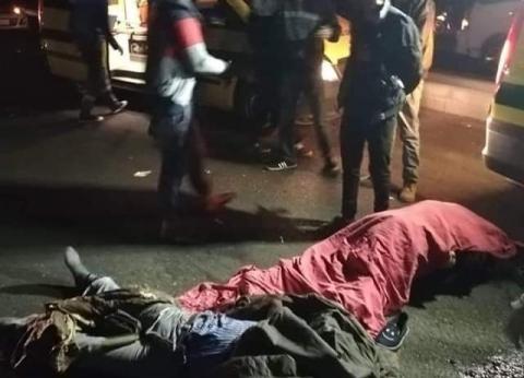 حبس سائق دهس رجل وزوجته في السويس