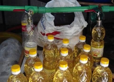 تموين الإسكندرية: ضبط مصنع تعبئة زيت طعام دون ترخيص