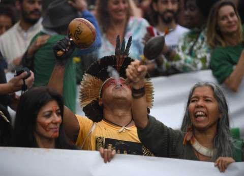 مظاهرات في البرازيل تضامنا مع غابات الأمازون