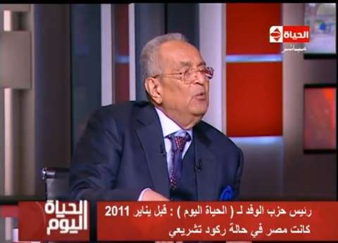 """""""أبو شقة"""" رئيسا لـ""""تشريعية النواب"""" بالتزكية"""