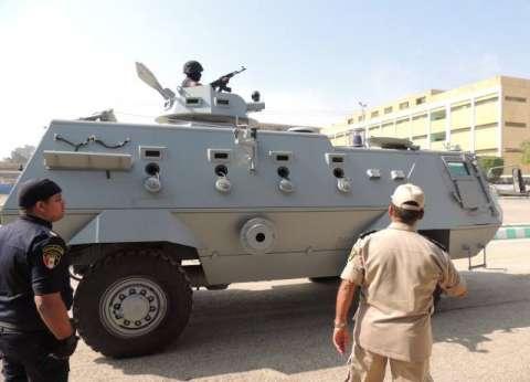 استعراض قدرات المدرعة فهد بقوات أمن المنيا