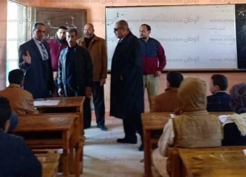 """وكيل """"تعليم مطروح"""" يفاجئ مدارس الساحل الشمالي لمتابعة امتحانات النقل"""