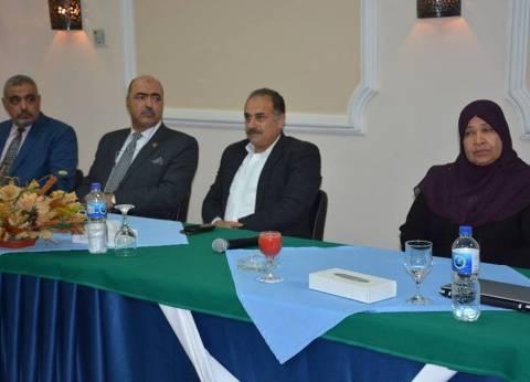 سكرتير عام محافظة الوادي الجديد يلتقي وفد جمعية البيئة العربية