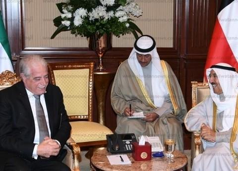 أمير دولة الكويت يستقبل محافظ جنوب سيناء