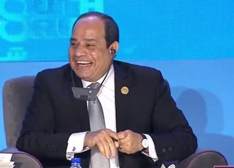 بالفيديو| موقفان أضحكا السيسي خلال جلسات منتدى شباب العالم