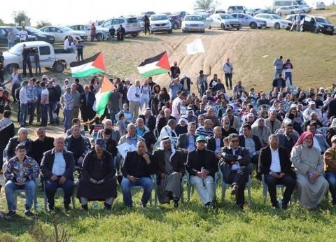 """إضراب شامل وتعطيل جامعات.. توابع مسيرات """"يوم الأرض"""" في فلسطين"""