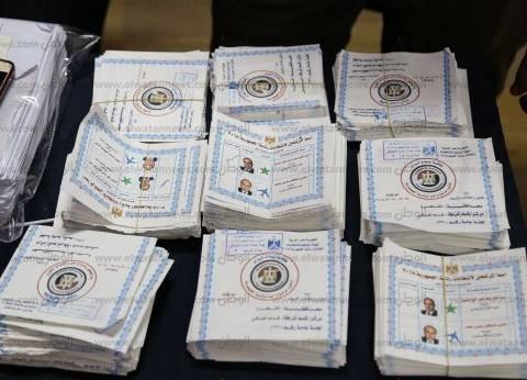 مؤشرات أولية| السيسي 538 صوتا وموسى 39 بمدرسة العبور في سوهاج