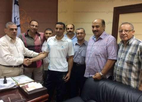 """وكيل """"الشباب والرياضة"""" في الغربية يستقبل منتخب مصر لـ""""المعاقين"""""""