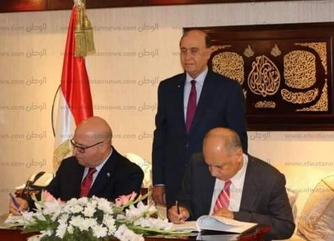 """مميش: تنفيذ أول المشروعات الصناعية بـ""""شرق بورسعيد"""" في نوفمبر"""