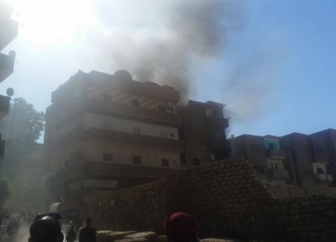 """محافظ أسوان يوفر إقامة للأسر المتضررة من حريق عمارة بـ""""الشيخ هارون"""""""
