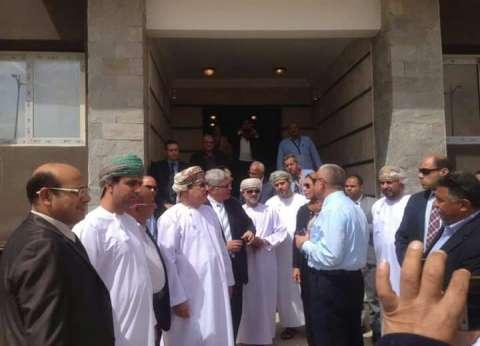 بالصور| وزير الإسكان العماني يتفقد العاصمة الإدارية الجديدة