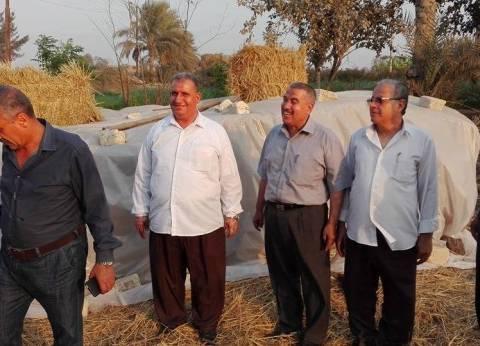 الشرقية: حرائق القش تتحدى «البيئة».. والمزارعون: «مفيش مكابس»