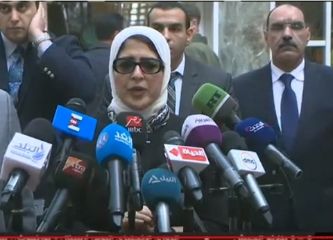 وزيرة الصحة: خروج 15 من مصابي حريق قطار محطة مصر