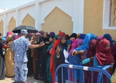 بالصور| نساء حلايب وشلاتين يشاركن بقوة في الانتخابات للمرة الأولى