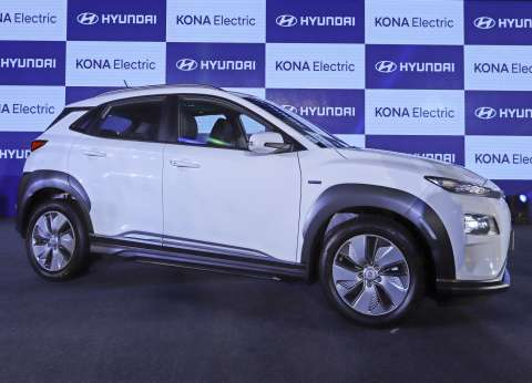 Hyundai كوريا الجنوبية تطلق أول سيارة كهربائية في الهند