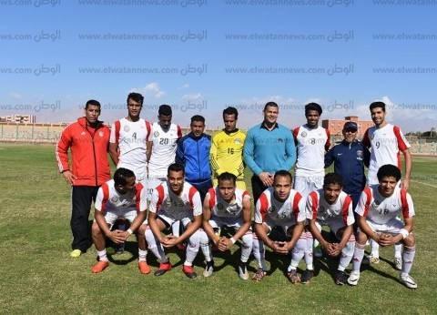 فوز فريق جنوب سيناء في دوري الدرجة الرابعة لكرة القدم