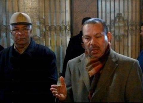 بالصور  مساعد وزير الداخلية لوسط الصعيد يتفقد تأمين كنائس أسيوط