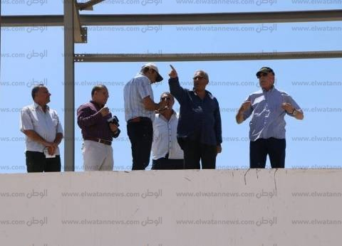 افتتاح المرحلة الأولى من مضمار الهجن في جنوب سيناء أكتوبر 2018