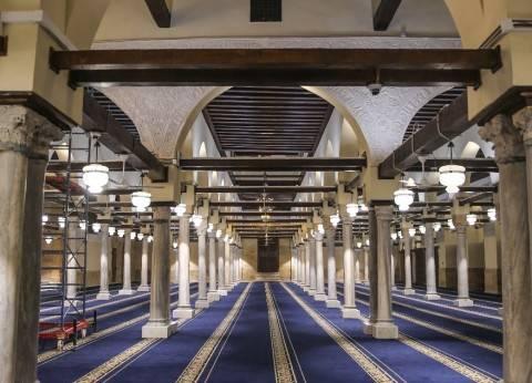 عاجل| السيسي يصل إلى الجامع الأزهر لافتتاح أعمال ترميمه
