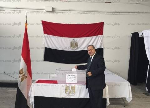 بدء تصويت المصريين في لوس أنجلوس على التعديلات الدستورية