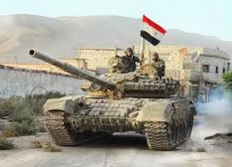 """القوات السورية تتقدم باتجاه قاعدة جوية يحتلها """"داعش"""" الإرهابي"""