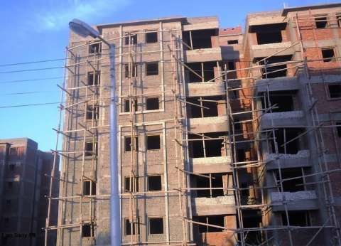 إنشاء عمارة سكنية لسكان الأكشاك الخشبية بالوادي الجديد