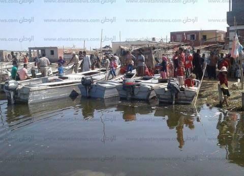 حملة أمنية مكبرة علي بحيرة المنزلة تضبط 8 قطع سلاح و3.5 كيلو بانجو
