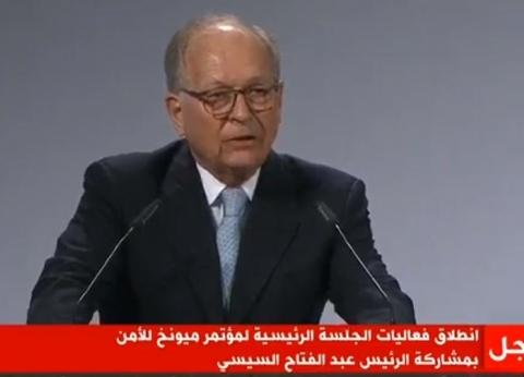 عاجل| انطلاق الجلسة الرئيسة لمؤتمر «ميونخ للأمن» بمشاركة السيسي