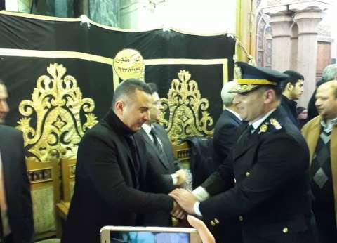 مندوب الرئاسة يقدم واجب العزاء في سعيد عبد الغني