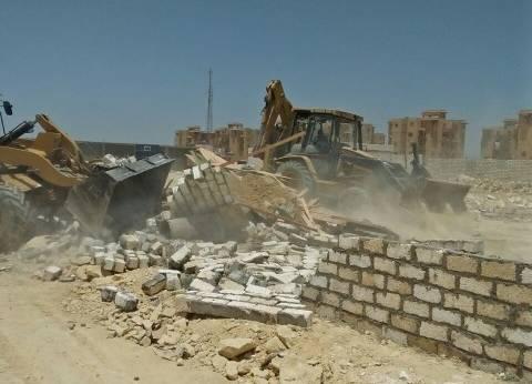 إزالة تعديات على 83 فدانا من أملاك الدولة بشرق النيل في بني سويف