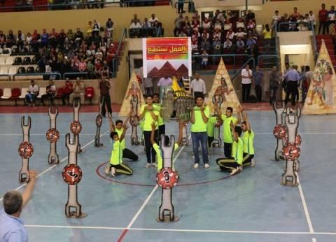 اختتام مهرجان الأنشطة الرياضية لكشف المواهب في المنوفية
