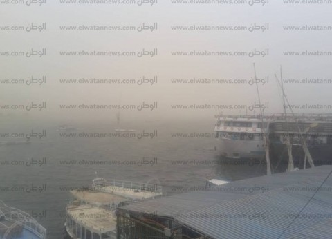 عاصفة ترابية شديدة تضرب محافظة أسوان