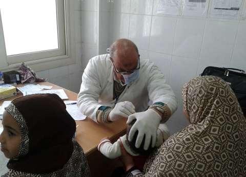 الكشف على 184 حالة بقافلة طبية في جامعة المنوفية