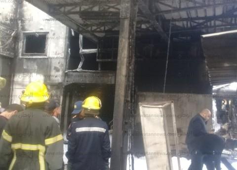 """التحقيقات: تفحم جثث ضحايا حريق قطار  """"محطة مصر"""""""