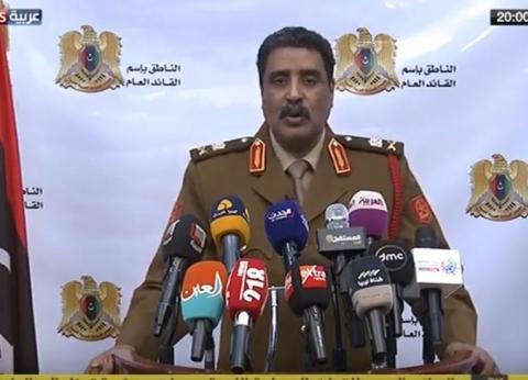 المسماري: المجتمع الدولي يؤيد الجيش الليبي في حربه ضد الإرهاب