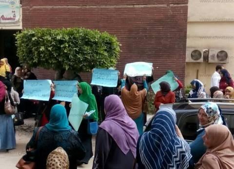 للأسبوع الثاني.. تواصل إضراب موظفات المعهد الفني للتمريض بجامعة طنطا