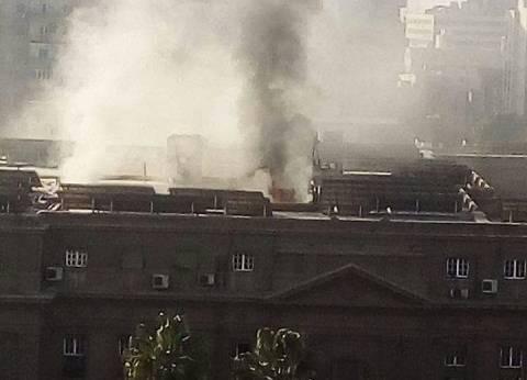 """""""البنا"""" يطلب تقريرا عن حريق الطابق الرابع في وزارة الزراعة"""