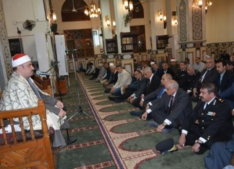 الجيزة تحتفل بذكرى المولد النبوي بمسجد المحروسة في العجوزة