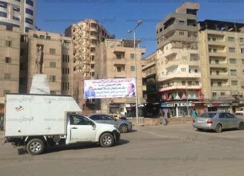 استنفار أمني في شوارع المحلة الكبرى تزامنا مع ذكرى ثورة يناير وعيد الشرطة