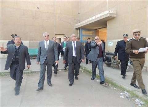 بالصور  مساعد وزير الداخلية يتفقد كنائس المحلة قبل أعياد الميلاد