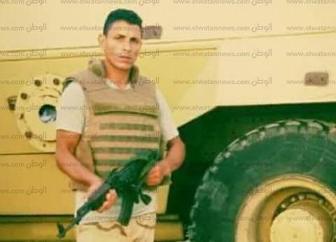 وصول شهيد سيناء إلى مسقط رأسه في كفر الشيخ