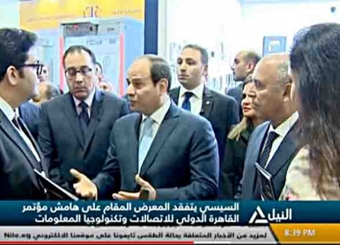 السيسي يفتتح مشروعات تنموية بدمياط.. أبرزها مدينة الأثاث ومحطة حاويات