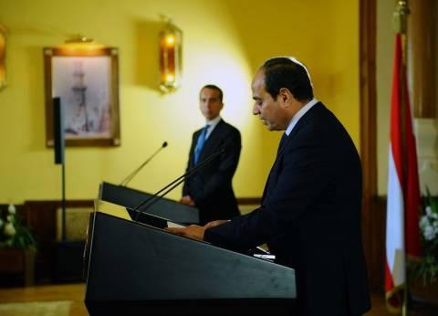 الرئيس السيسي يصدر قانون بربط موازنة هيئة السكك الحديدية