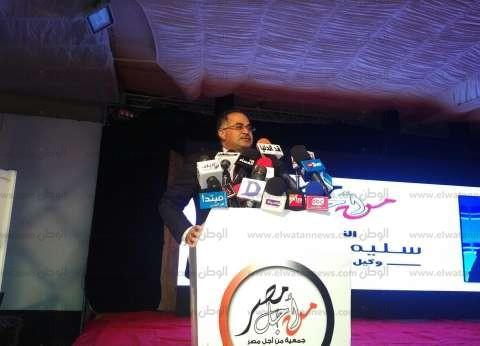 """سليمان وهدان: أؤيد ترشح السيسي للرئاسة لأنه """"أنقذ مصر"""""""