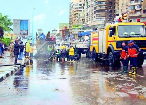 محافظ البحيرة: الجهود مستمرة لمواجهة الأمطار والسيول المحتملة
