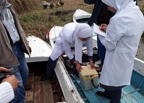 بدء الحملة القومية للتطعيم ضد شلل الأطفال بالمناطق الحدودية ببورسعيد