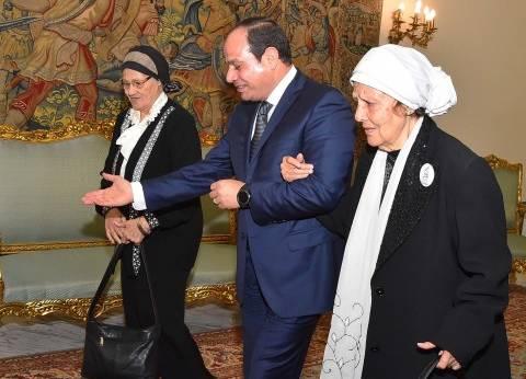 السيسي: تحية للمرأة المصرية على دورها الوطني المستمر في دعم الوطن