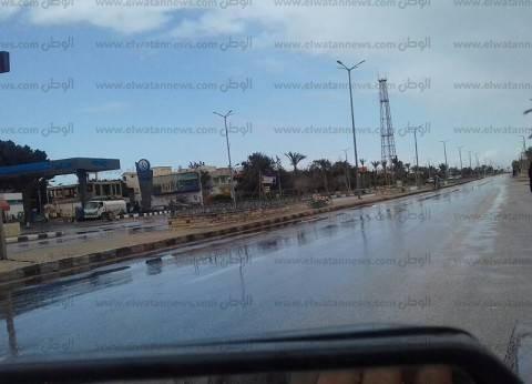 """""""طوارئ شمال سيناء"""": لم نتلق أي استغاثات بسبب سقوط الأمطار"""