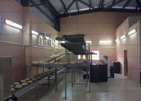 ضبط صاحب مخبز لقيامه بإنتاج الخبز ناقص الوزن في طنطا