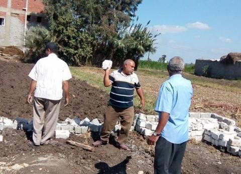 الزراعة: إزالة التعديات على الأراضى الزراعية فوراً حتى فى حال توصيل المرافق